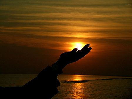 Nurturing the LIght of Life - Sunset at Digha, West Bengal, India