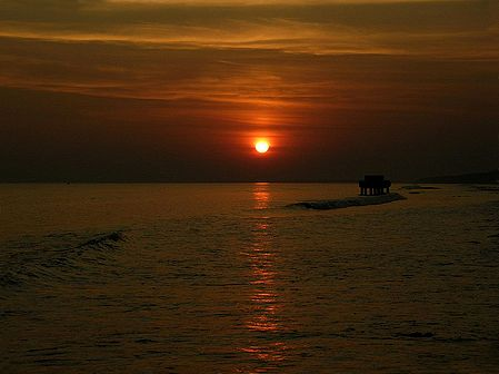 An Ode to the Setting Sun - Sunset at Digha, West Bengal , India