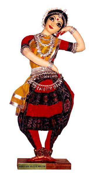 Odissi Dancer - Unframed Photo Print on Paper