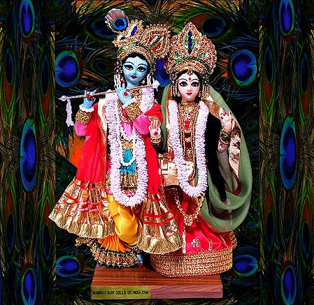 Photo Print of Radha Krishna