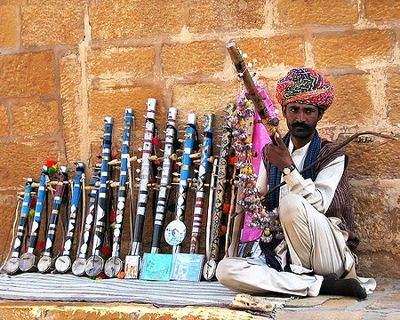 Ektara Seller from Jaisalmer -  Rajasthan, India