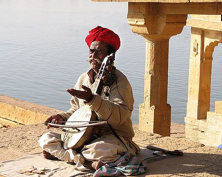 Folk Singer from Jaisalmer - Rajasthan, India
