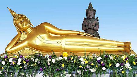 Reclining Buddha, Bangkok - Thailand