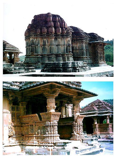 Saas Bahu Temple, Rajasthan, India - Set of 2 Photo Prints