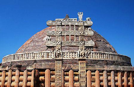 Sanchi Stupa, Madhya Pradesh, India