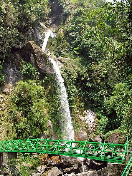Seven Sister Waterfalls - North Sikkim, India