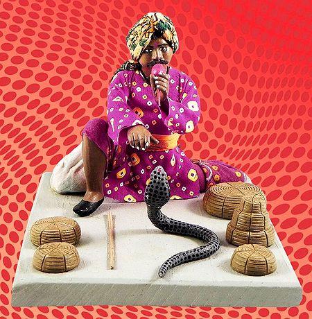 Snake Charmer Photo - Unframed Photo Print on Paper