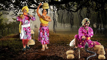 Snake Charmers - Unframed Photo Print on Paper