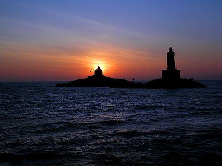 Sunrise at Kanyakumari - Tamil Nadu, India
