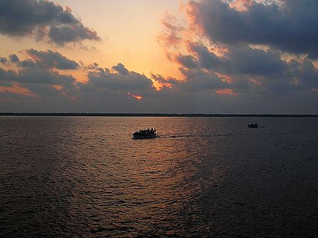 Sunrise on Arabian Sea, India