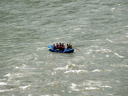 River Rafting on River Tista - East Sikkim, India