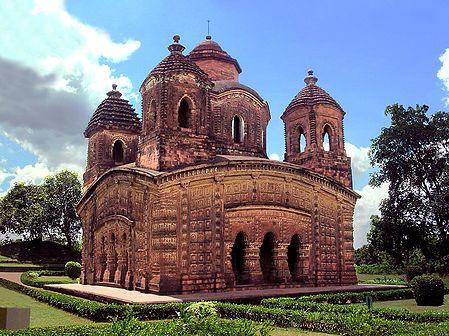 Terracotta Temple - Vishnupur, West Bengal, India