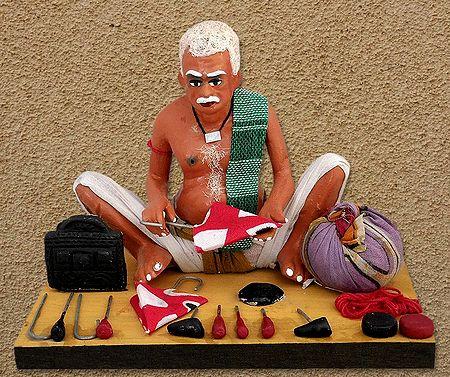 Umbrella Maker Photo - Unframed Photo Print on Paper