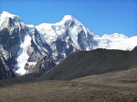 Way to Gurudongmar Lake - North Sikkim, India