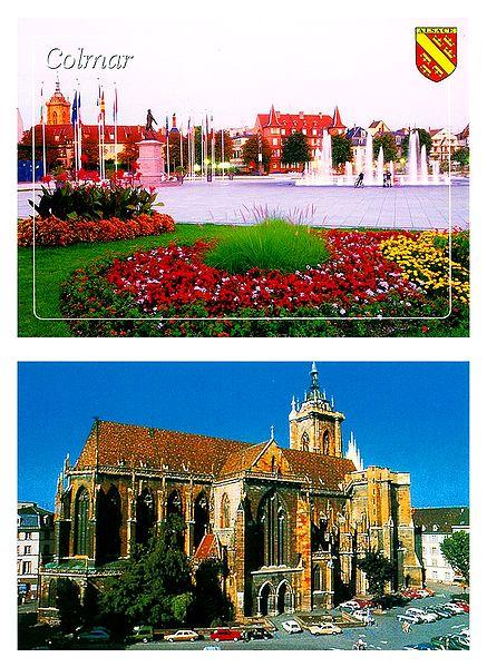 Colmar, France - Set of 2 Postcards