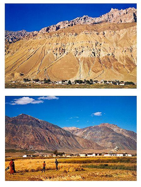 Zanskar Valley, Ladakh - Set of 2 Postcards