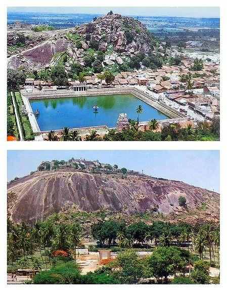 Saravanbelagola - Set of 2 Postcards