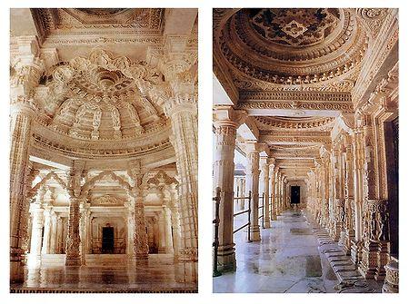 Dilwara Temple, Mt. Abu - Set of 2 Postcards