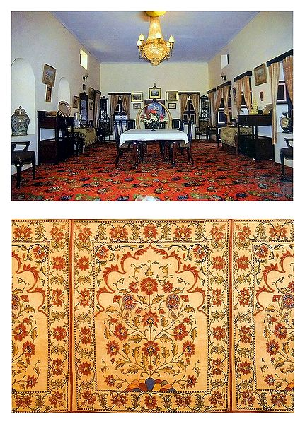 Bhuj Palace and Embroidery Panel - Set of 2 Postcards