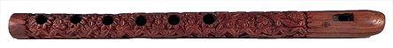 Wood Carved Flute for Krishna