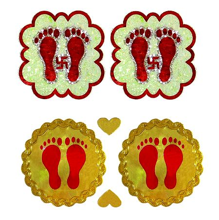 2 Pair of Sticker Charan