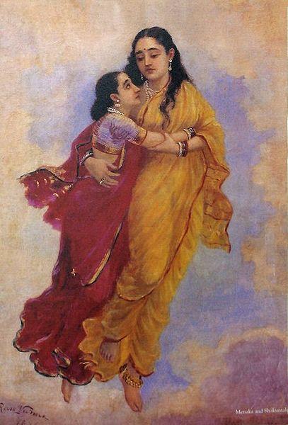 Maneka Takes Shakuntala to Heaven