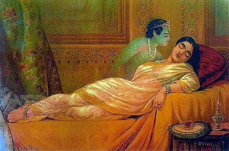 Usha Dreaming Aniruddha