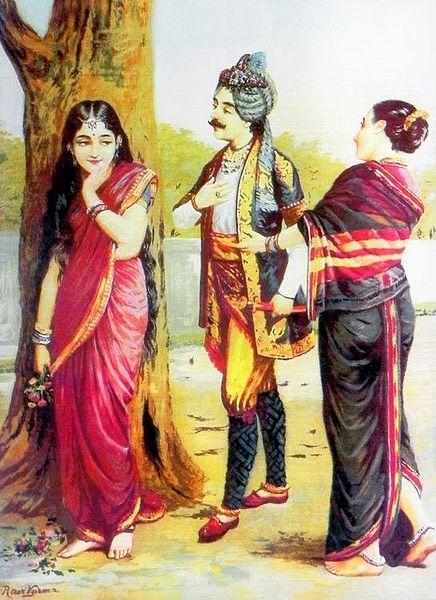 Dushyanta and Shakuntala - Love at First Sight