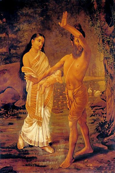 Vishwamitra Rejects Menaka and Their Daughter