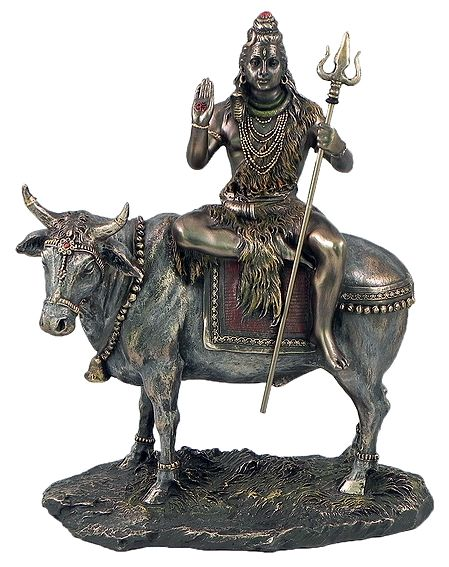 Lord Shiva Sitting on Bull