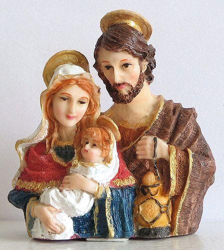 Mary, Joseph with Jesus