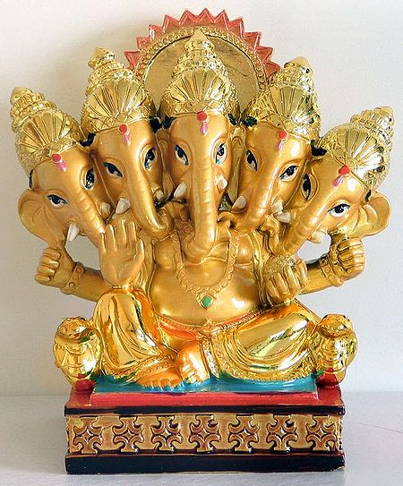 Panchamukhi (Five Faces) Ganesha