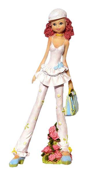 Fun and Frolic - Resin Girl Statue