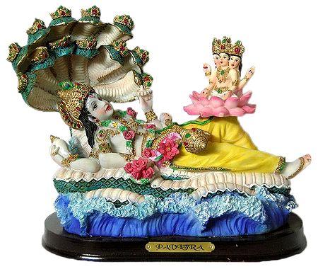 Ananta Sayanam Vishnu with Brahma