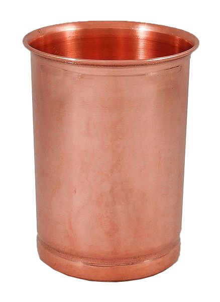 Copper Glass for Holy Water
