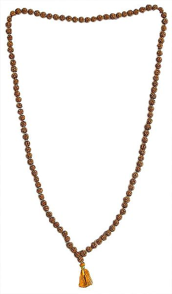 Japa Mala or Prayer Mala with 108 Rudraksha Beads