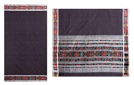 Orissa Katki Cotton Saree with Ikkat Design