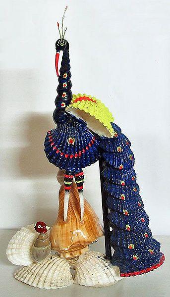 Gorgeous Blue Peacock