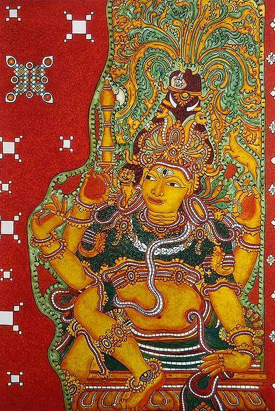 Dakshinamurthy - An aspect of Shiva as a Guru (teacher) of All Type of Knowledge.