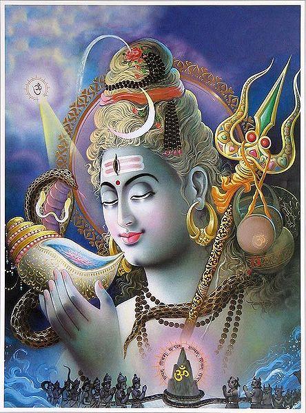 Neelkanth - Shiva Drinking Poison