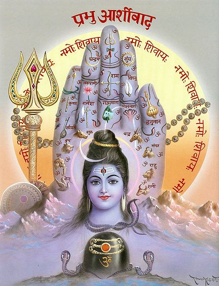 Blessings of Shiva