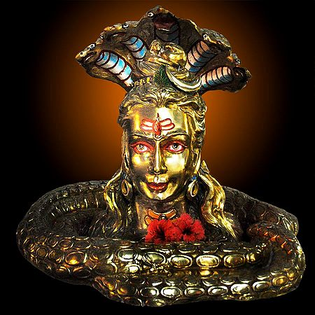 Golden Shivalinga, Dehradun, Uttarakhand