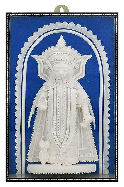Shola Pith Standing Lakshmi