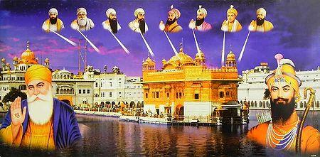 Golden Temple and Ten Sikh Gurus
