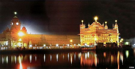 Harmandir Sahib - the Golden Temple of Amritsar