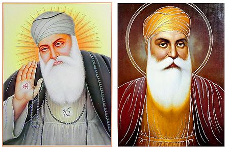 Guru Nanak - Set of 2 Glitter Posters