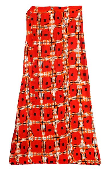 Saffron Wrap Around Skirt