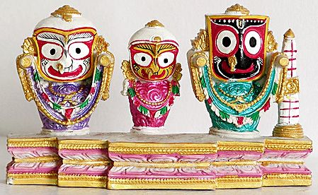 Jagannath, Balarama and Subhadra