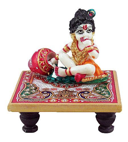 Bal Gopal Sitting on Chowki