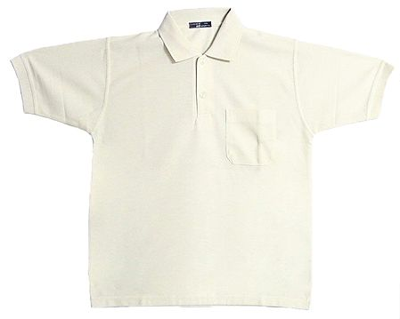 Off White Polo T-Shirt
